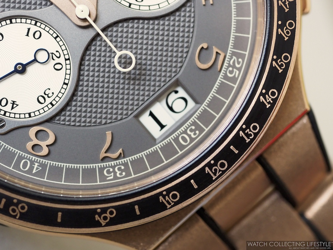 F.P. Journe Linesport Chronographe Rattrapante Calibre 1518 WCL9