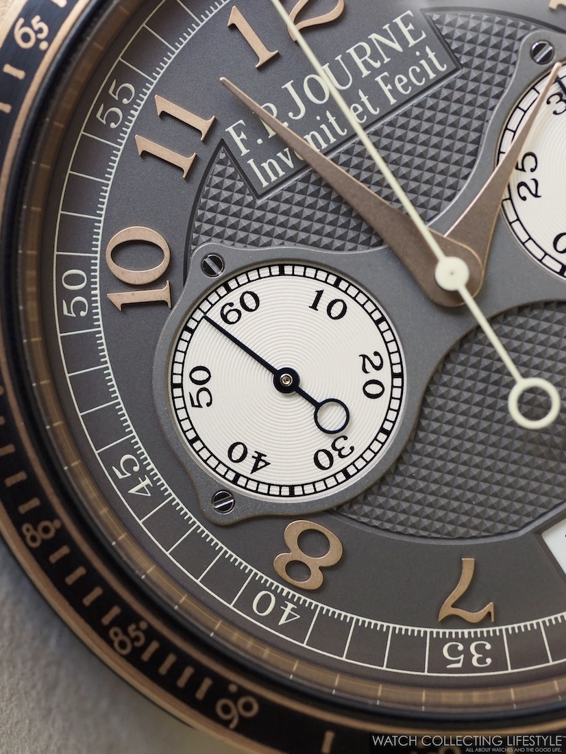 F.P. Journe Linesport Chronographe Rattrapante Calibre 1518 WCL10
