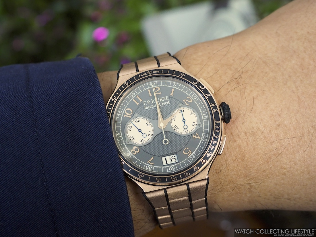 F.P. Journe Linesport Chronographe Rattrapante Wristshot WCL