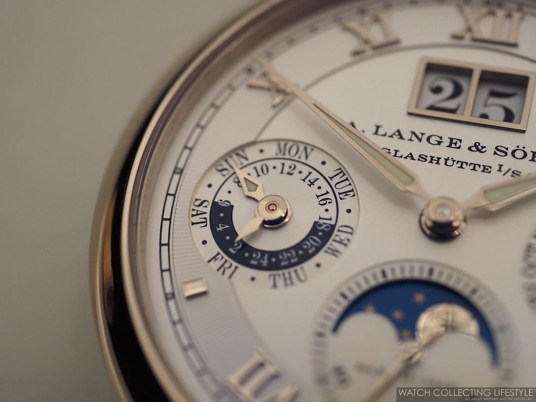 A. Lange & Sohne Langematik Perpetual Honey Gold WCL3