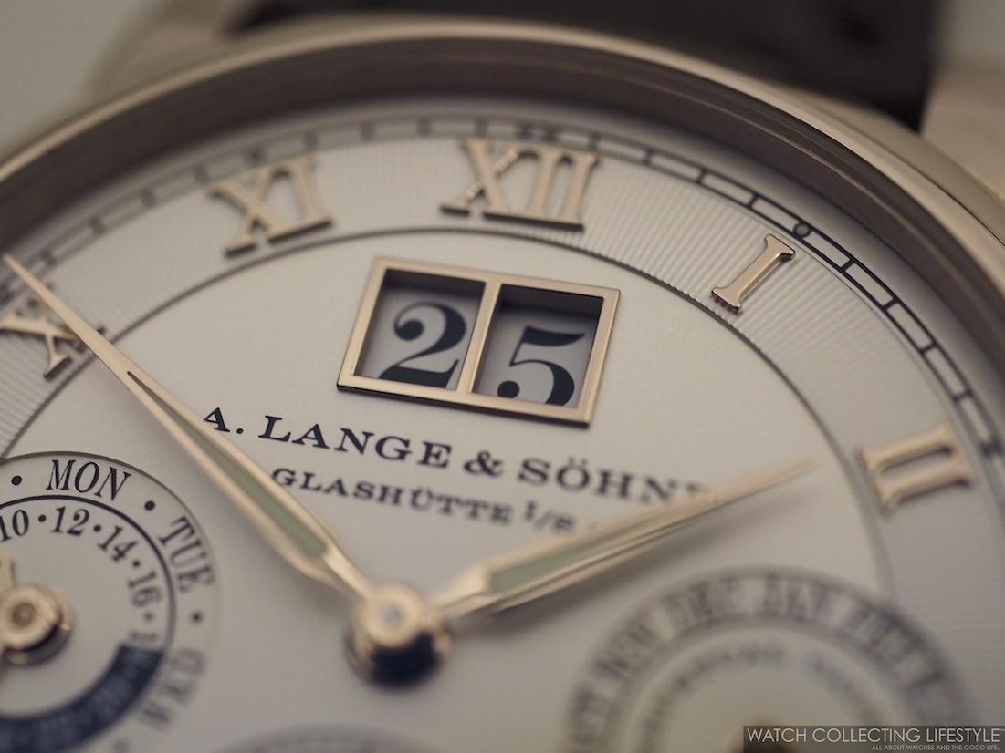 A. Lange & Sohne Langematik Perpetual Honey Gold WCL5
