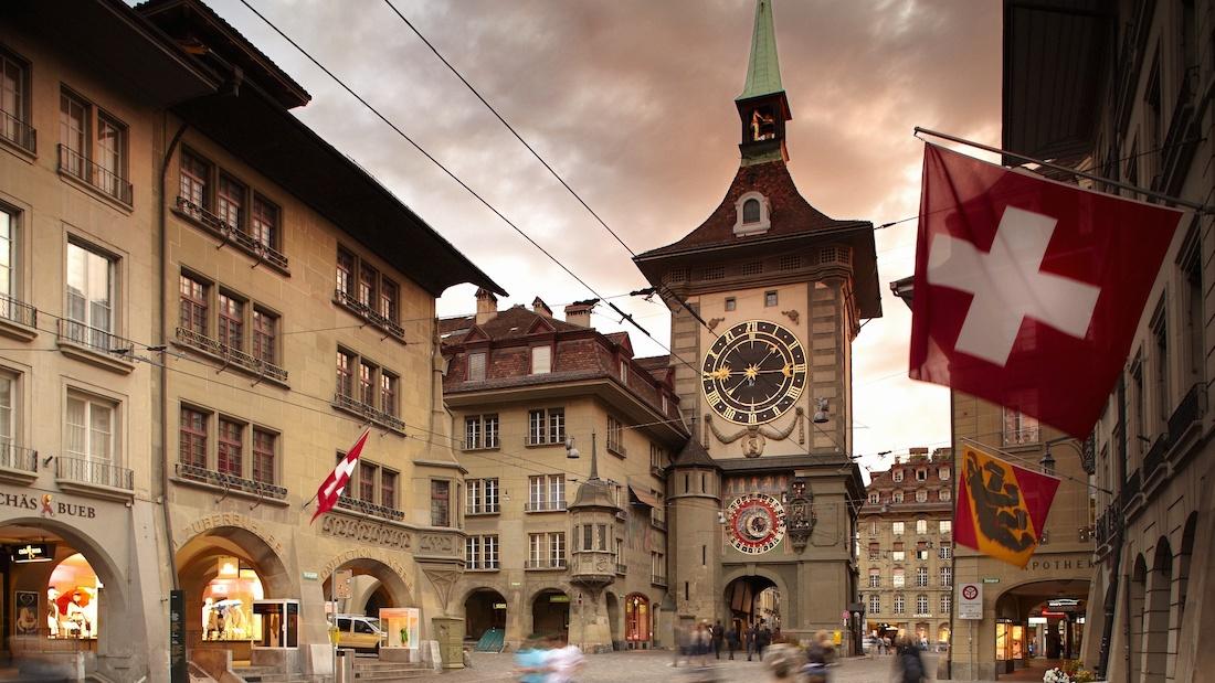 Bern's Zytglogge Tower Clock. Photo: Bern.com