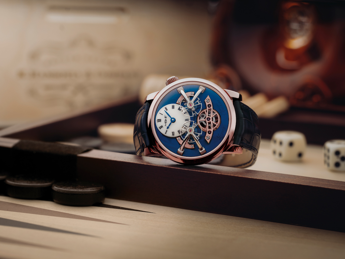 MB&F LM2 Red Gold Blue WCL