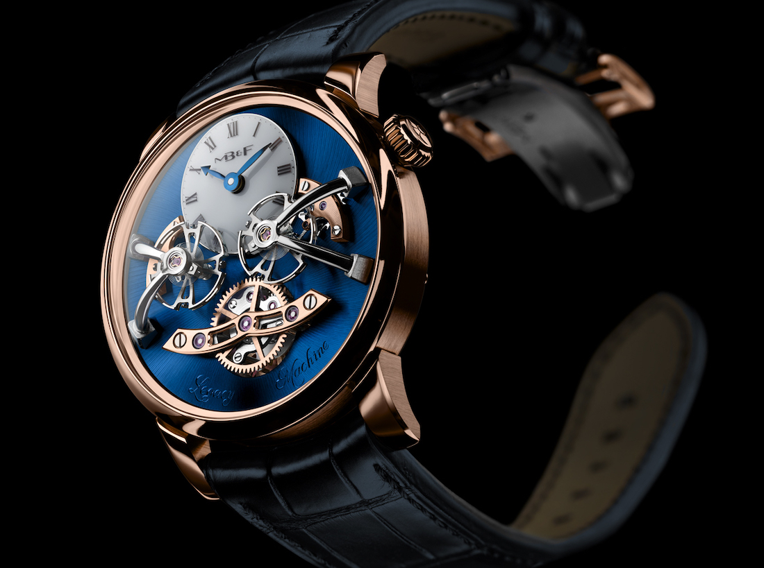 MB&F LM2 Red Gold Blue WCL2
