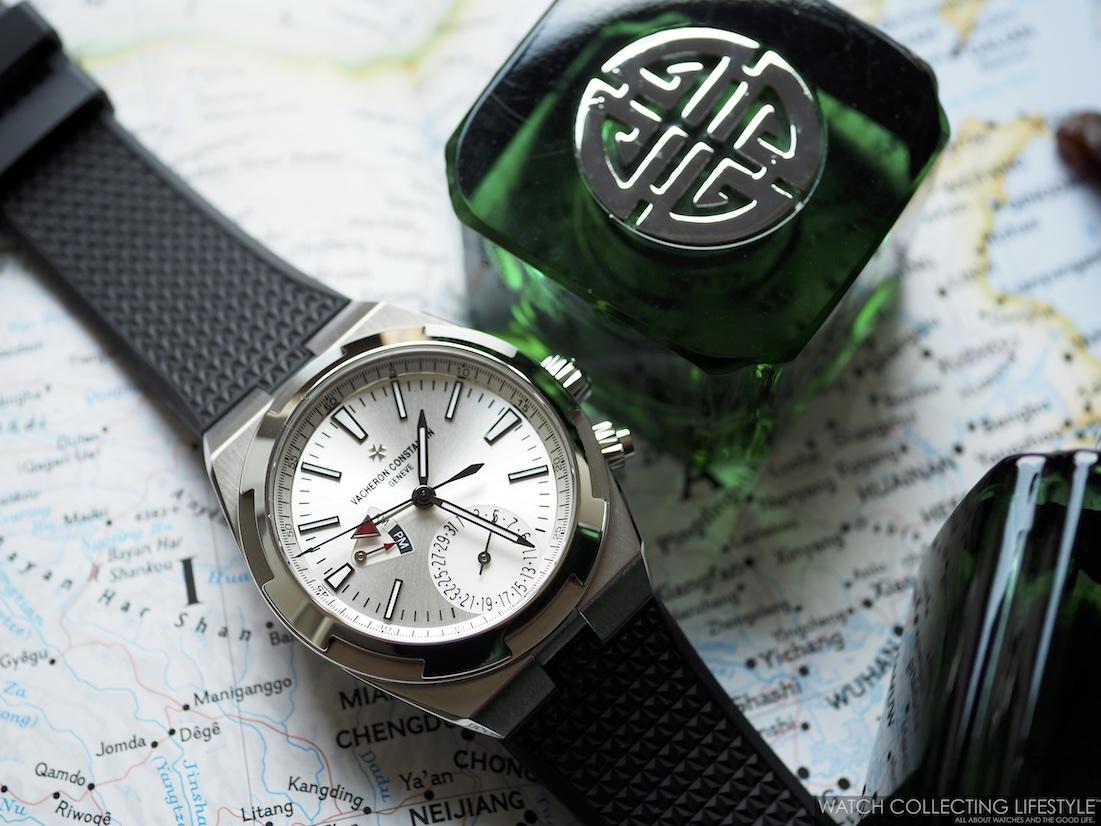 Shanghai Tang Jade and Vacheron Constantin Overseas Dual Time