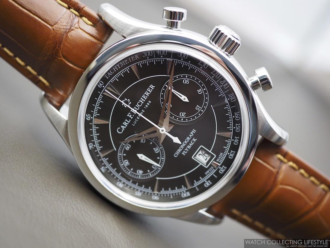 Carl F. Bucherer Manero Flyback Chronograph WCL