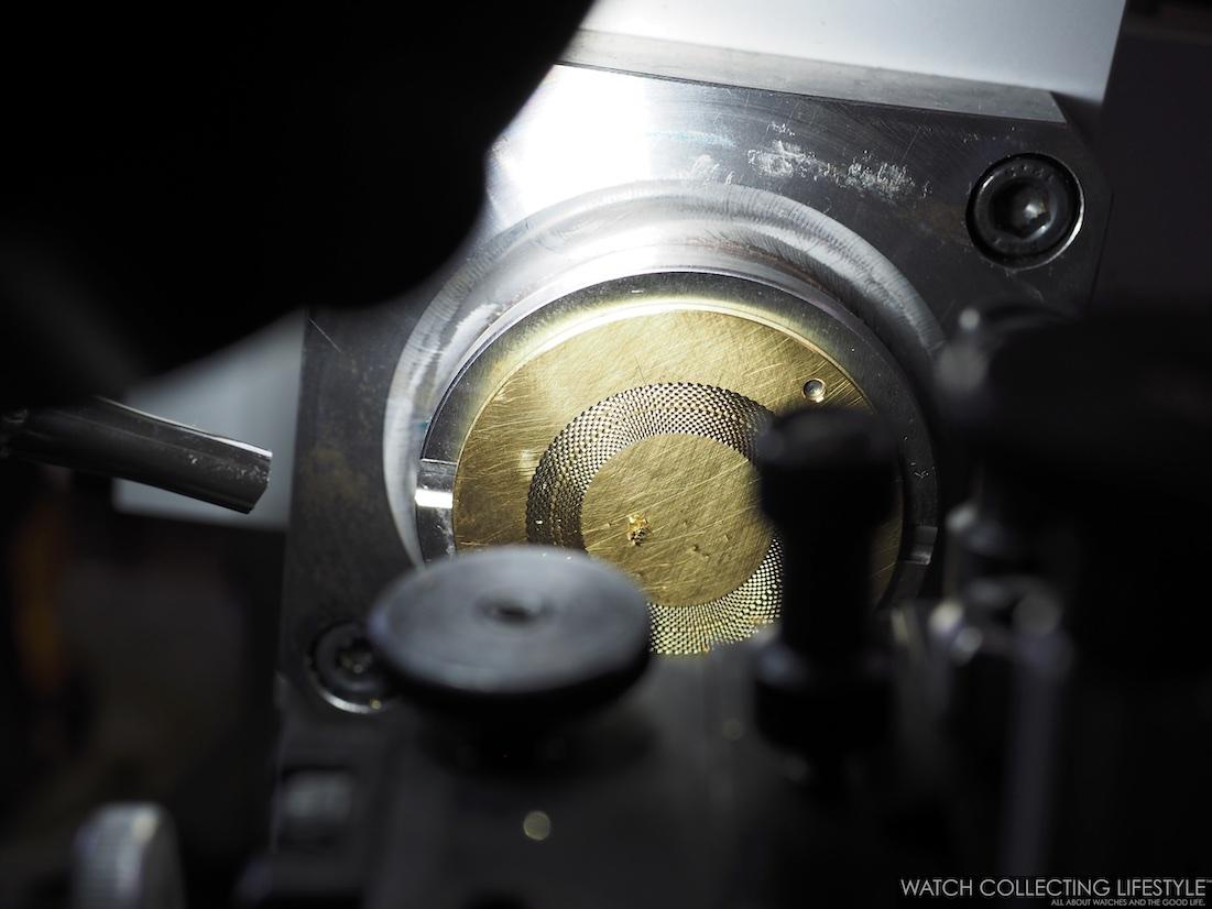 Rose Engine Turning Machine Breguet Manufacture