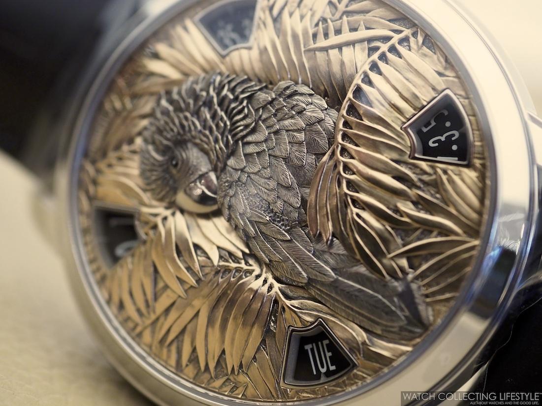 Vacheron Constantin Les Cabinotiers Mecaniques Sauvages Parrot