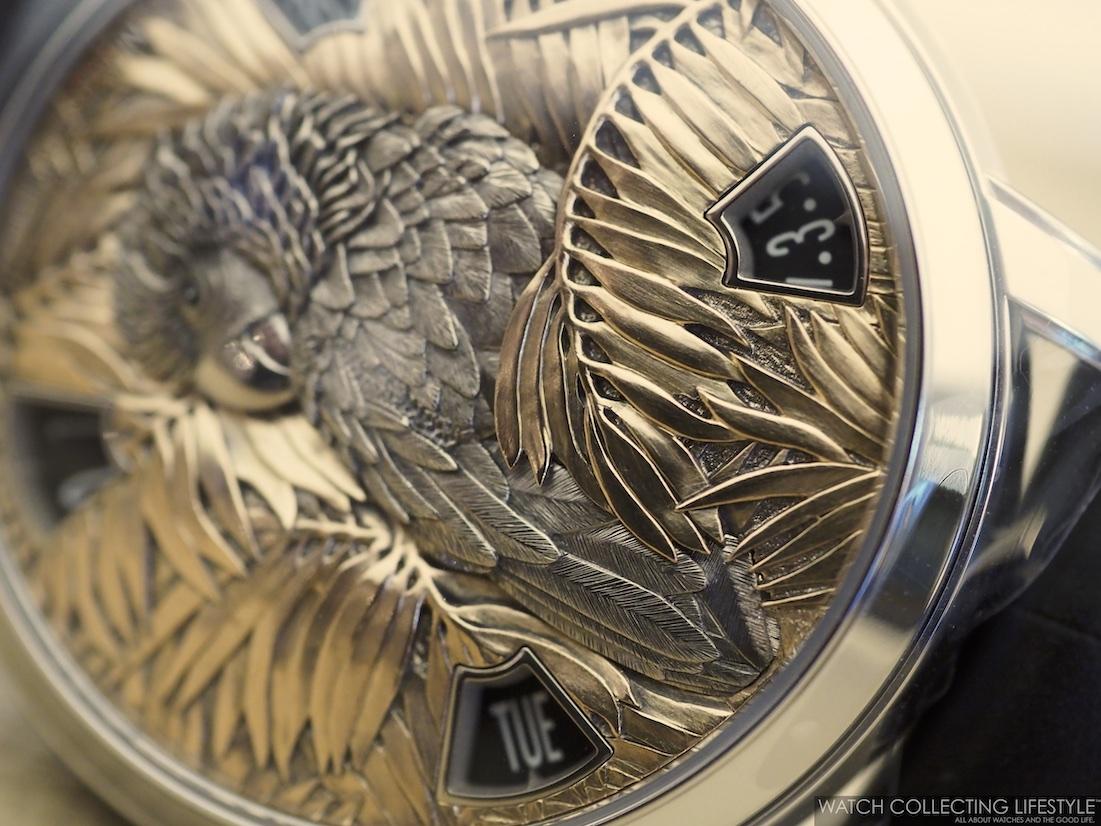 Vacheron Constantin Les Cabinotiers Mecaniques Sauvages Parrot 2