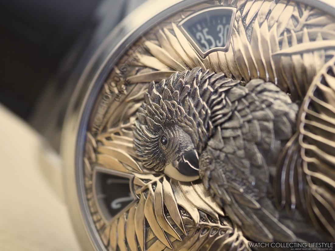 Vacheron Constantin Les Cabinotiers Mecaniques Sauvages Parrot WCL4
