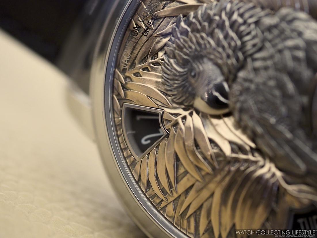 Vacheron Constantin Les Cabinotiers Mecaniques Sauvages Parrot WCL5