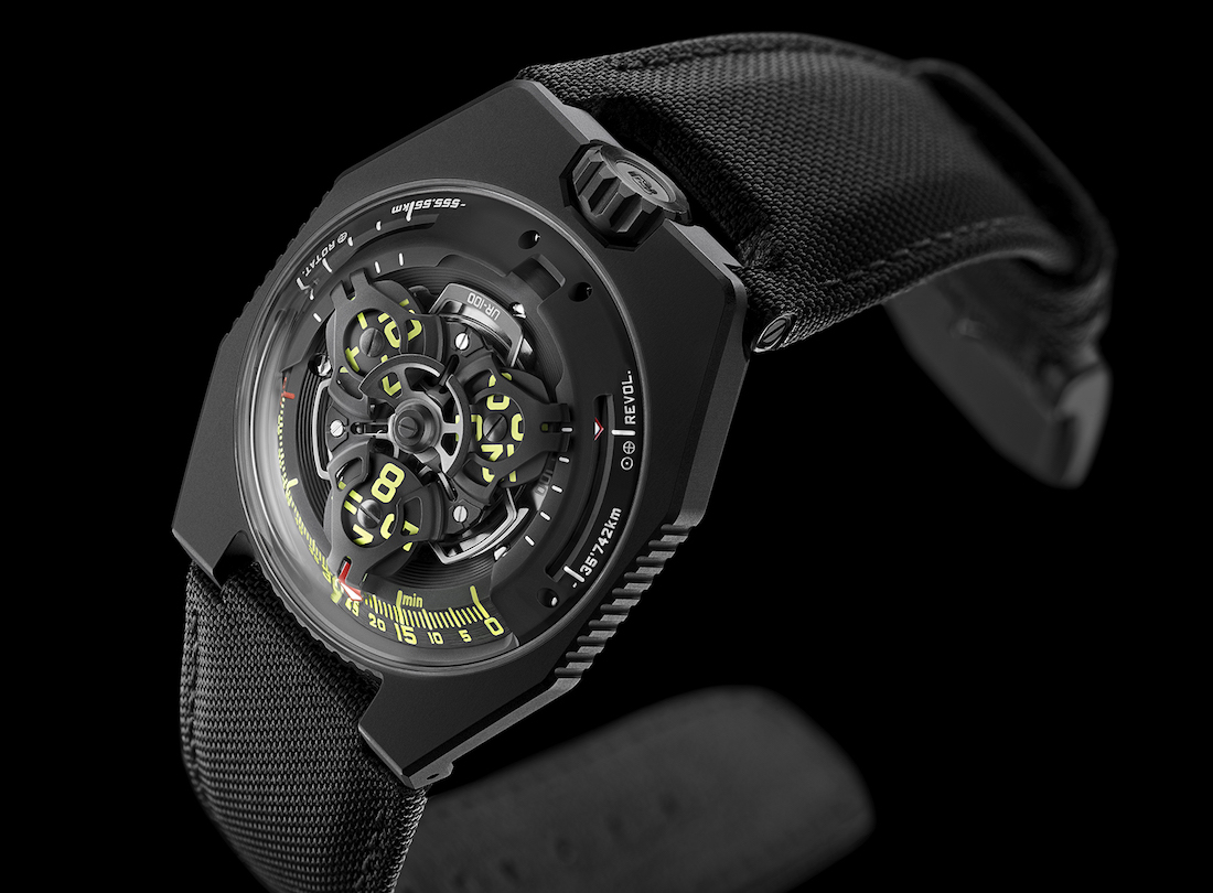Urwerk UR-100 Space Time Black