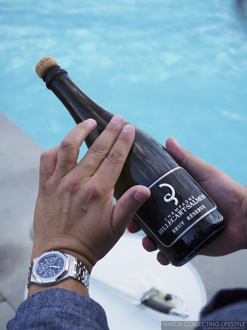 Art of Sabrage Billecart-Salmon Champagne WCL2