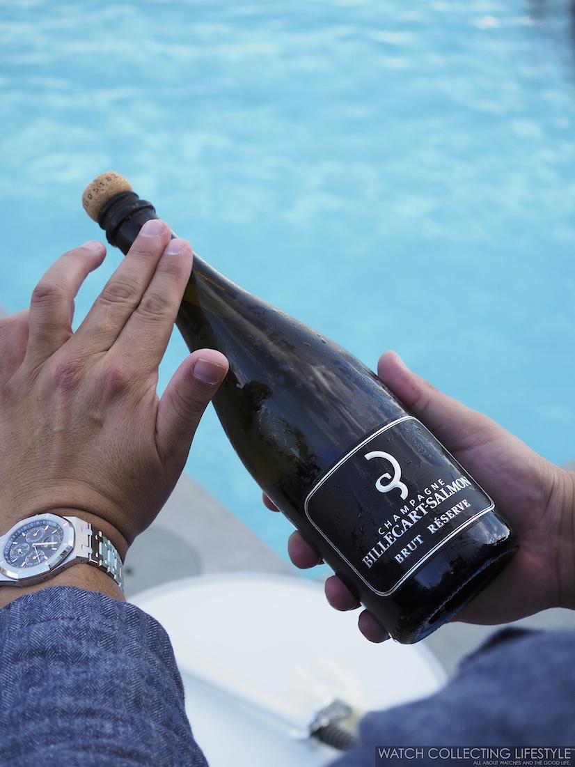 Art of Sabrage Billecart-Salmon Champagne WCL