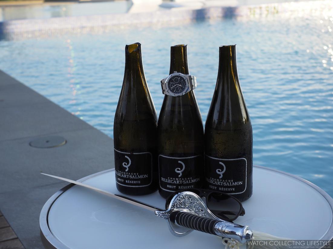 Billecart-Salmon Champagne Sabrage
