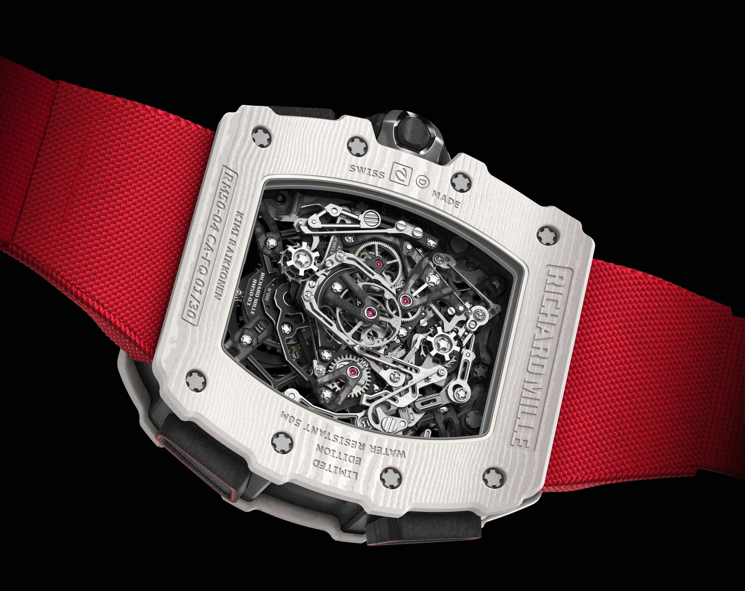 Richard Mille RM 50-04 Kimi Raikkonen Case Back