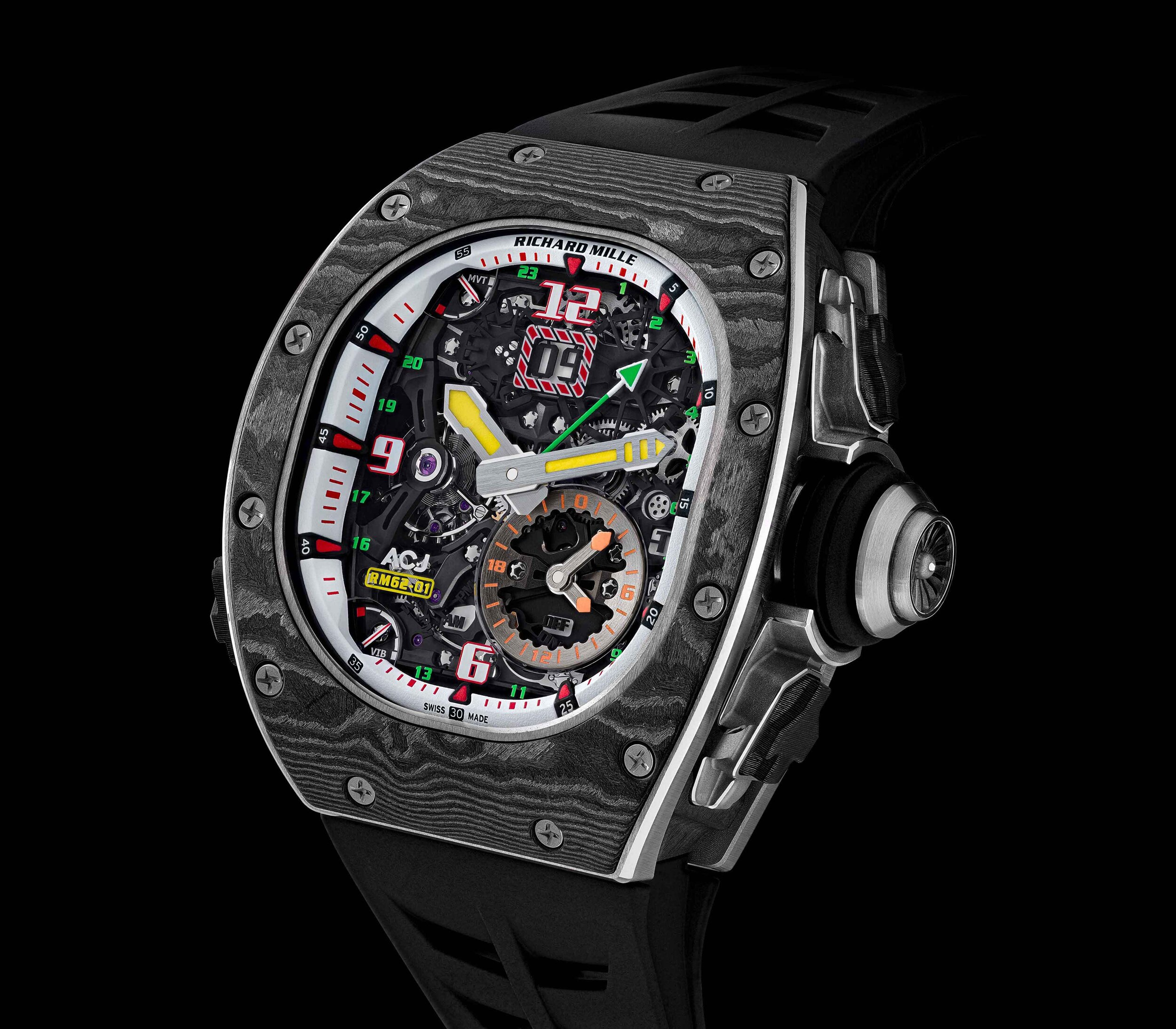 Richard Mille RM62-01 Front WCL