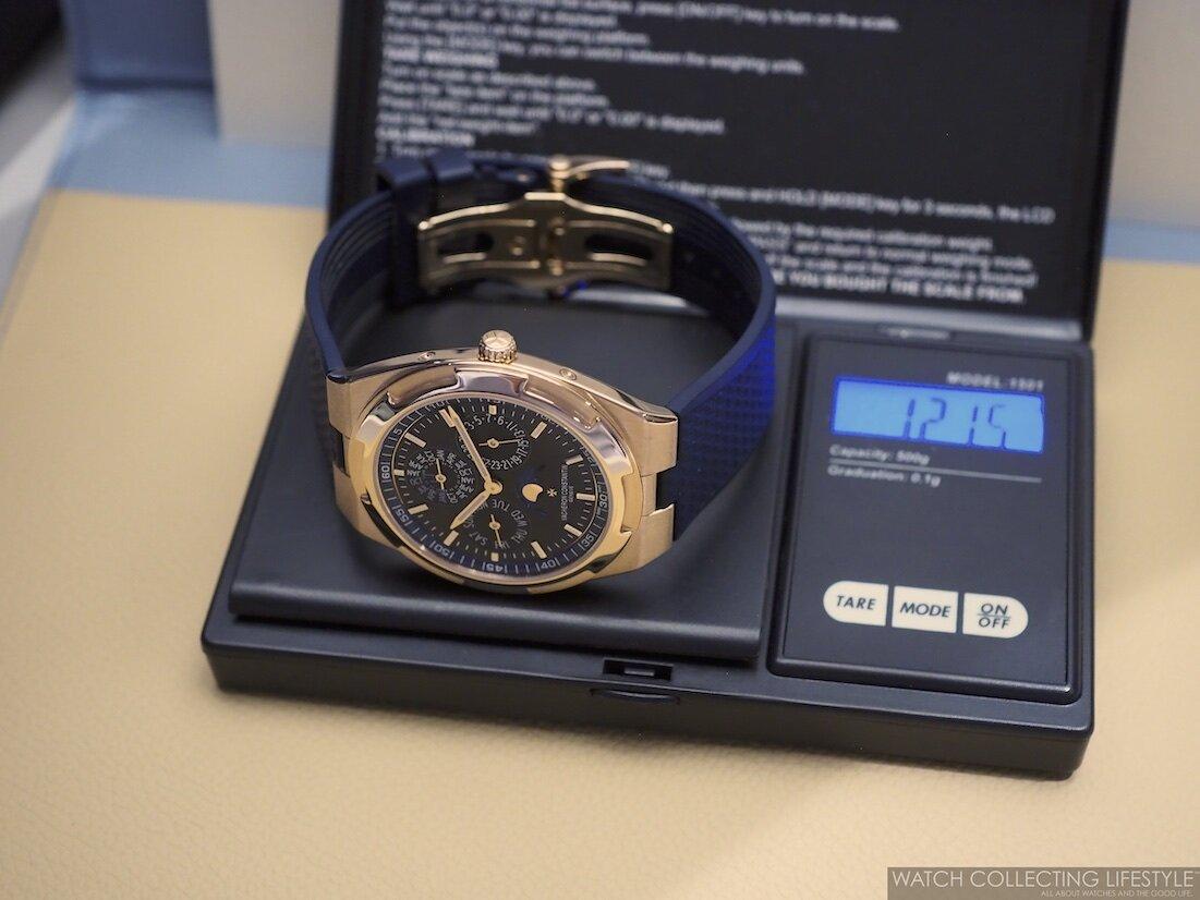 Vacheron Constantin Overseas Ultra-Thin Perpetual Calendar ref. 4300V Blue