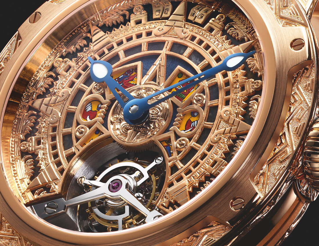 Louis Moinet 'Only Mexico' Edition