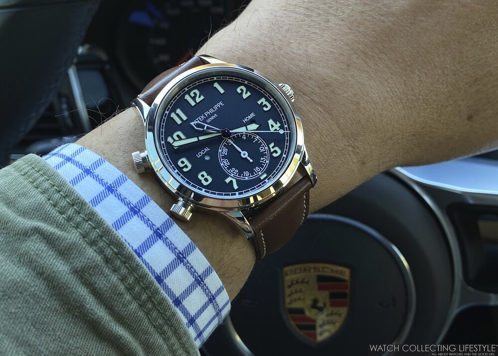 Experience: Porsche 911 50th Anniversary Edition Geyser Gray. A Modern Interpretation with Vintage Character Like the Patek Philippe Pilot Travel Time.