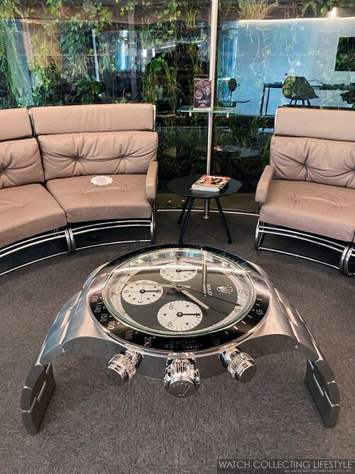 Experience Watch Coffee Tables By Pedro Costa Supersized Timepieces For Your Living Room Watch Collecting Lifestyle