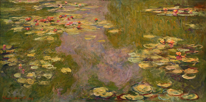 """Waterlilies"", 1919"