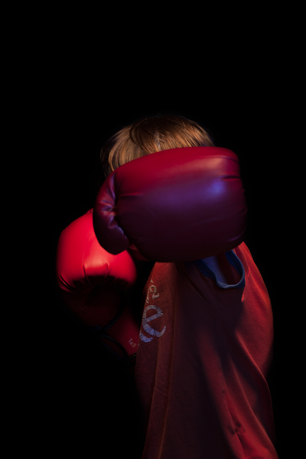 Portrait of Young Boxer, Glenavy Northern Ireland. ©Laurence Gibson