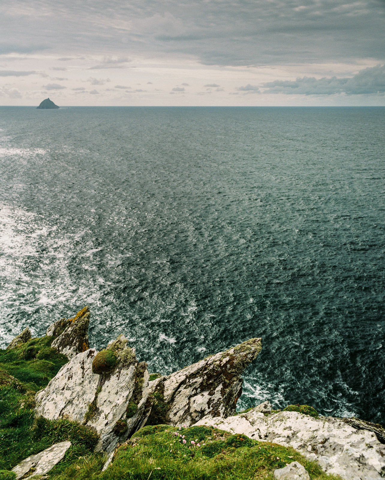 View from the Blasket Islands, County Kerry, Republic of Ireland. ©Laurence Gibson