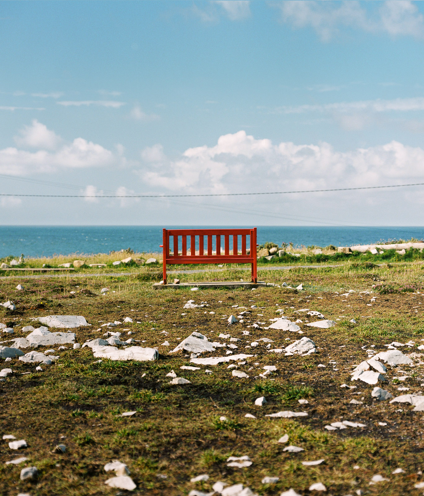 Bench, Tory Island, County Donegal, Republic of Ireland. ©Laurence Gibson