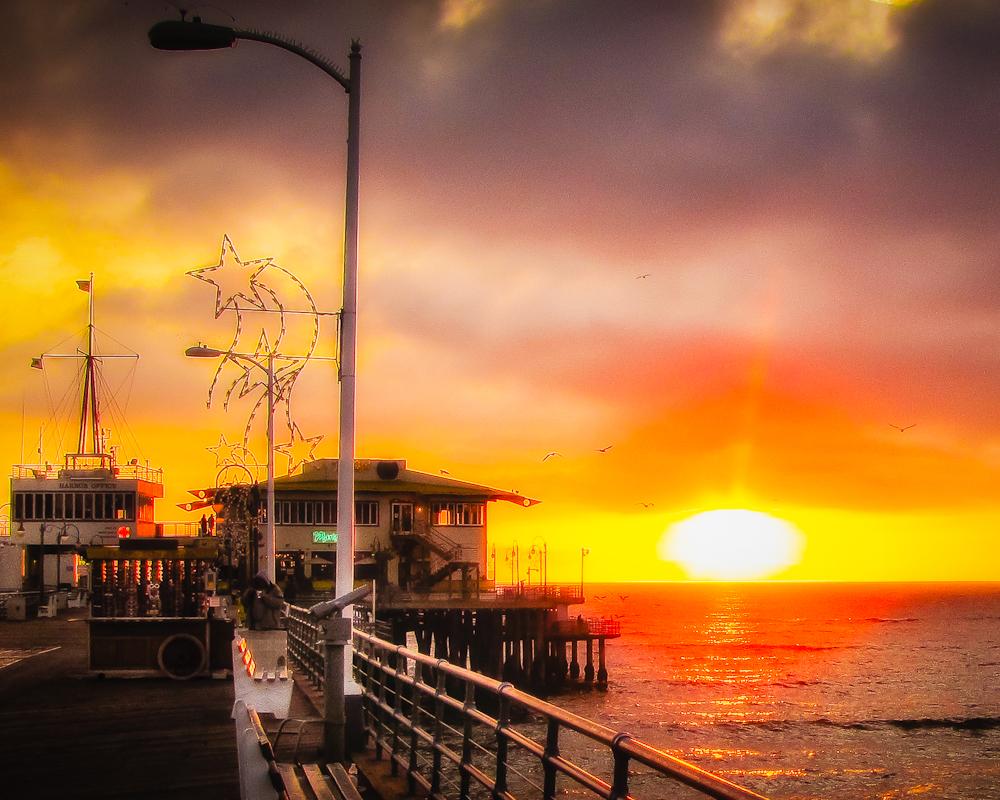 """""""Santa Monica Pier"""""""