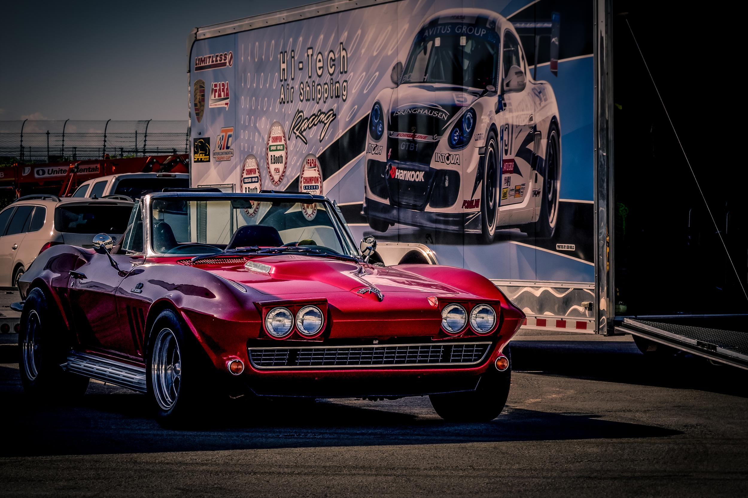"""Li'l Red Corvette"""