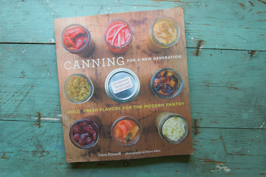 book: canning for a new generation