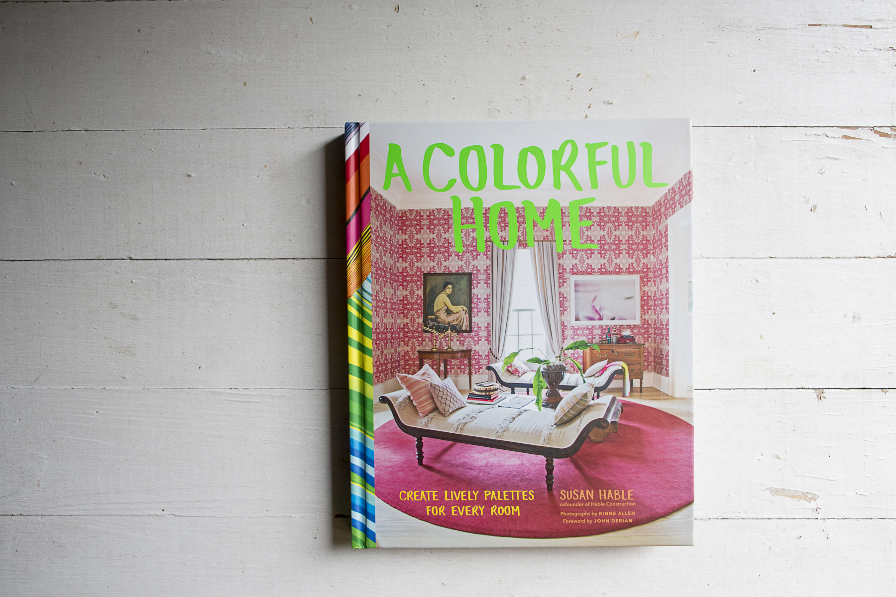 book: a colorful home