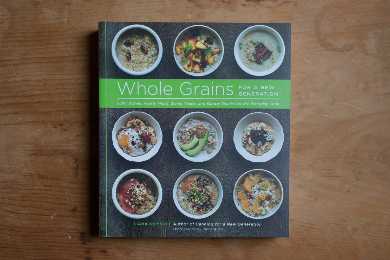 book: whole grains for a new generation