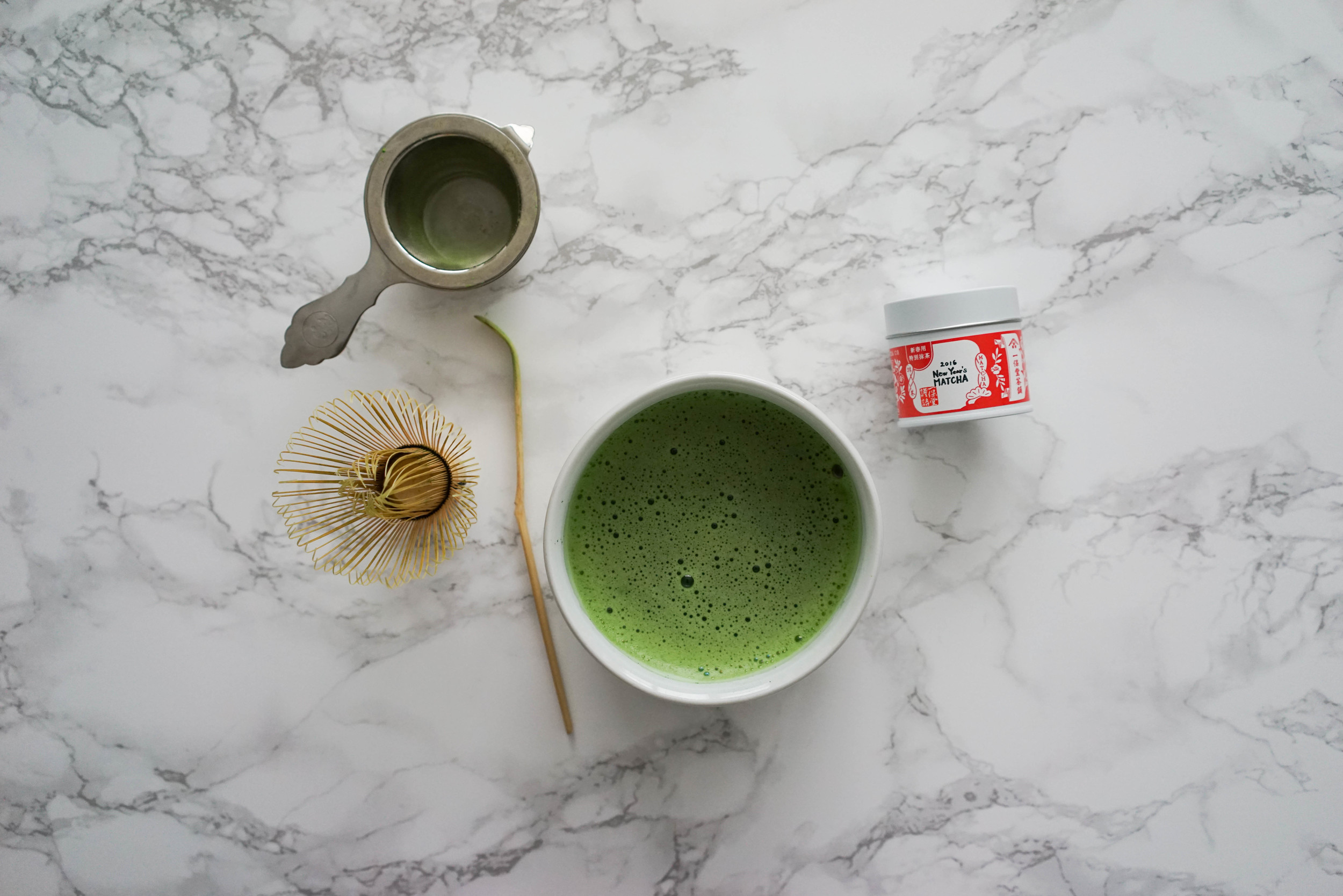 New Year Matcha