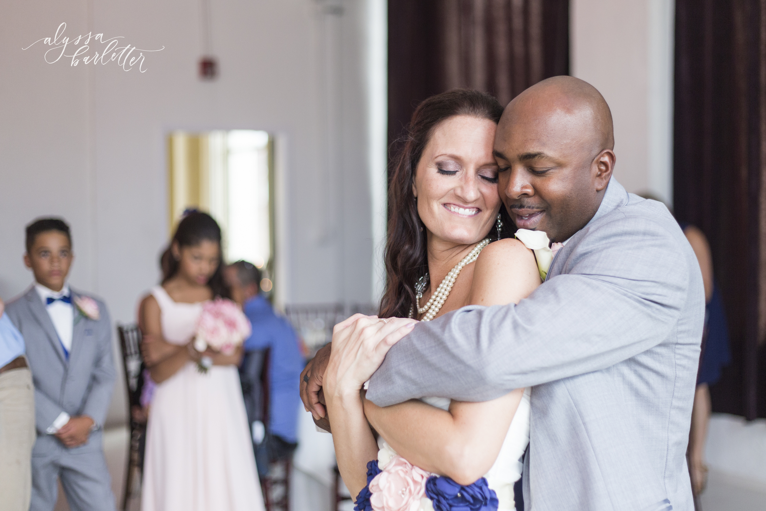wedding first dance the firestone building kansas city