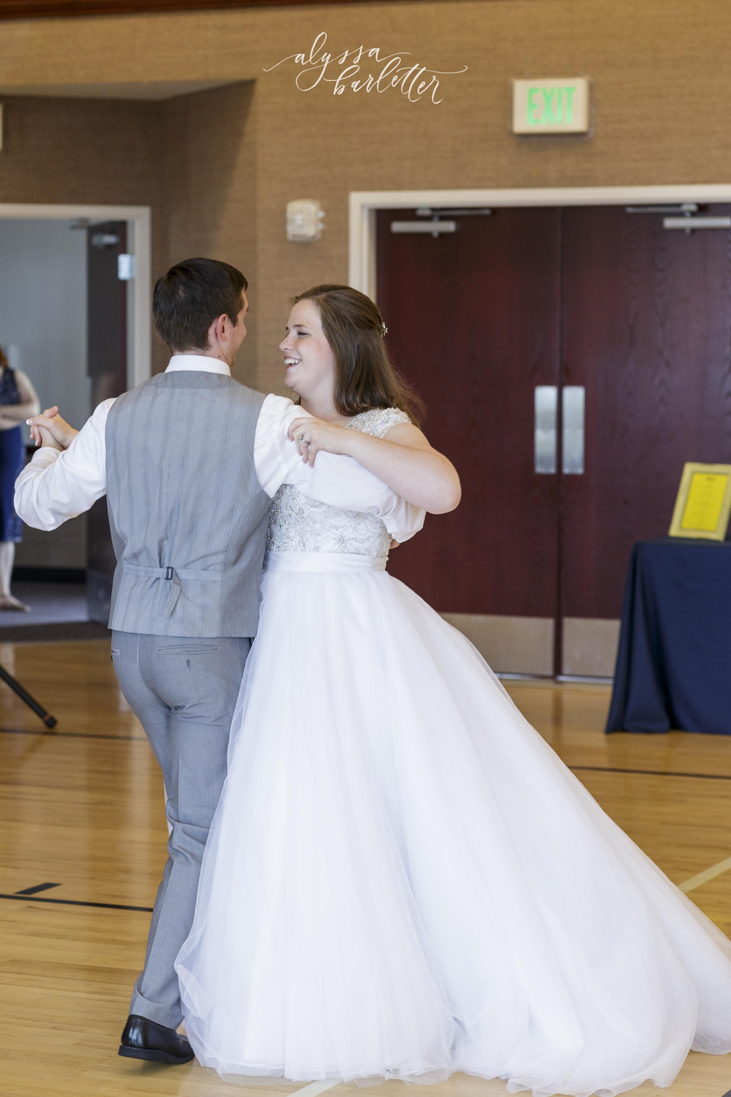 kansas city lds temple wedding reception first dance