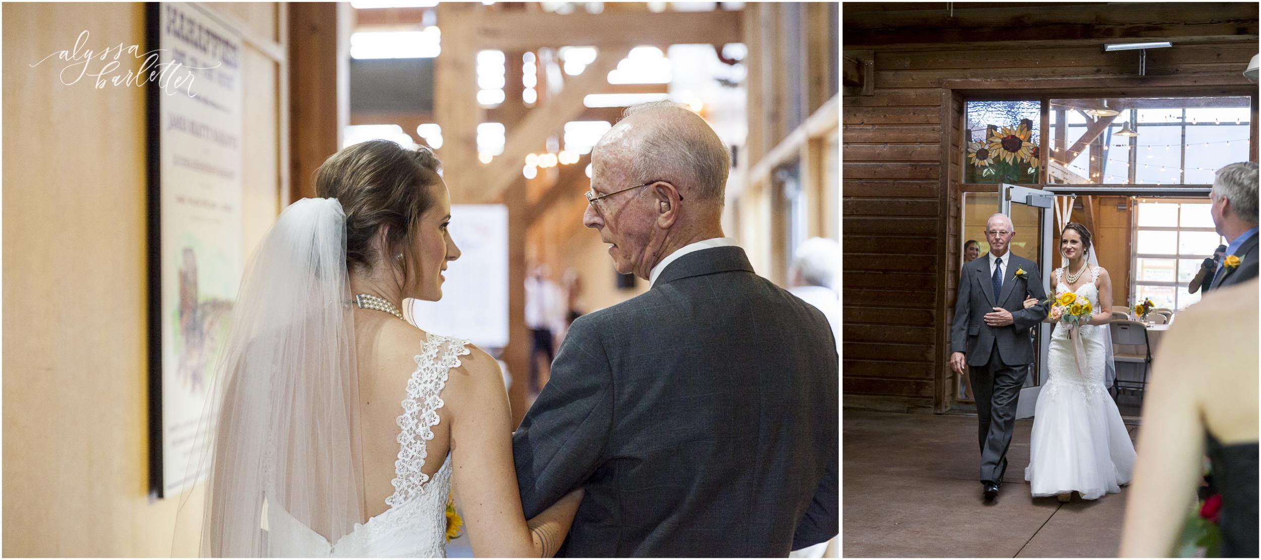 kansas city wedding budget mahaffie ceremony bride enterance