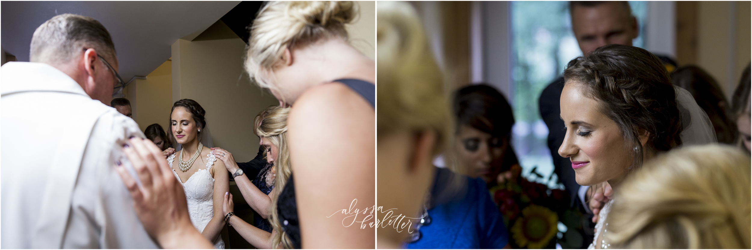 kansas city wedding budget mahaffie ceremony prayer