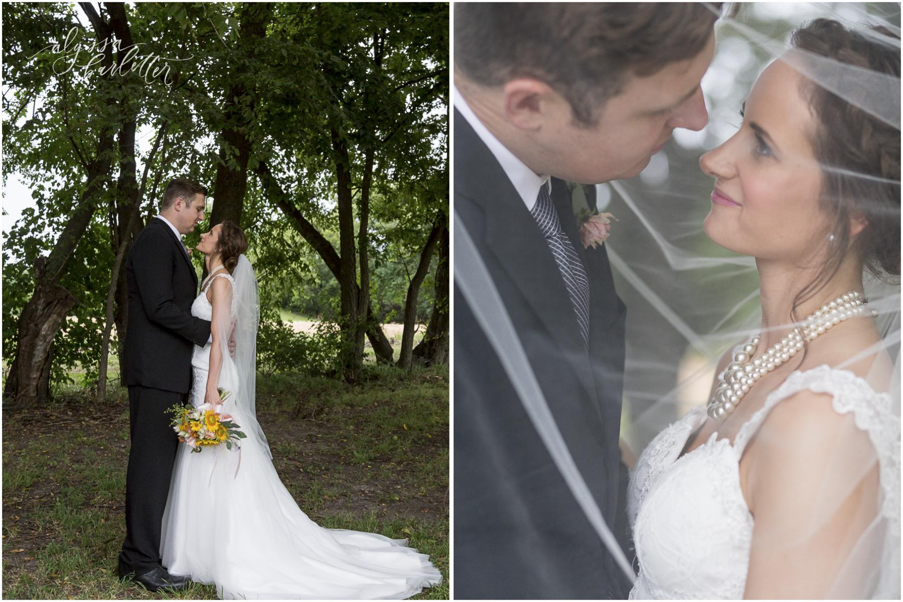 kansas city wedding budget mahaffie bride groom portraits veil