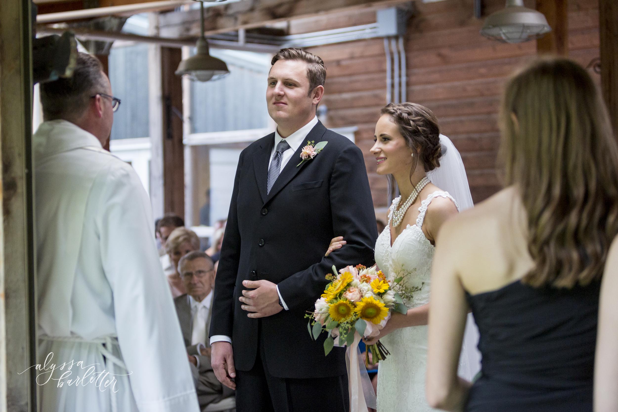 kansas city wedding budget mahaffie bride groom ceremony