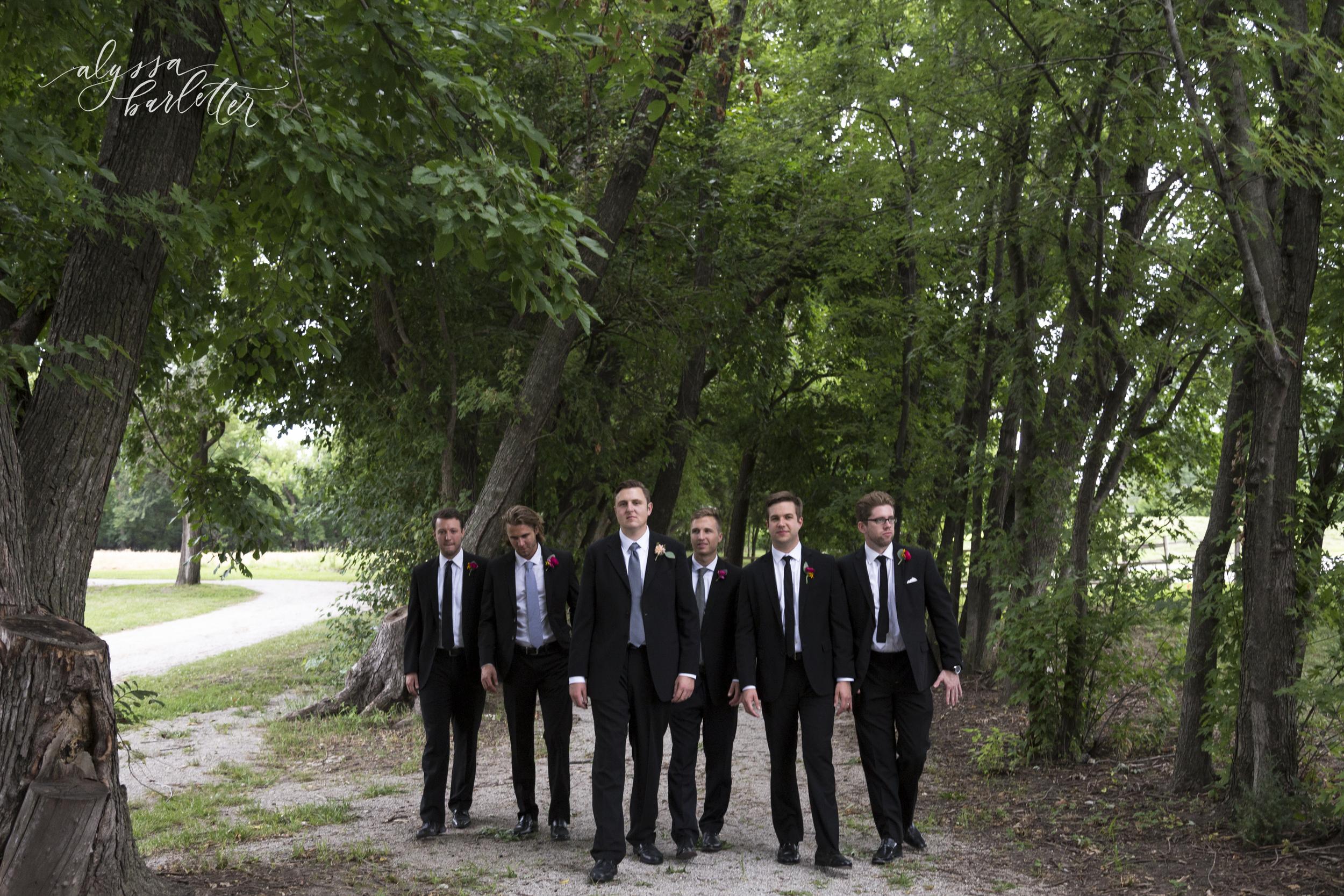 kansas city wedding budget mahaffie groom groomsmen suits
