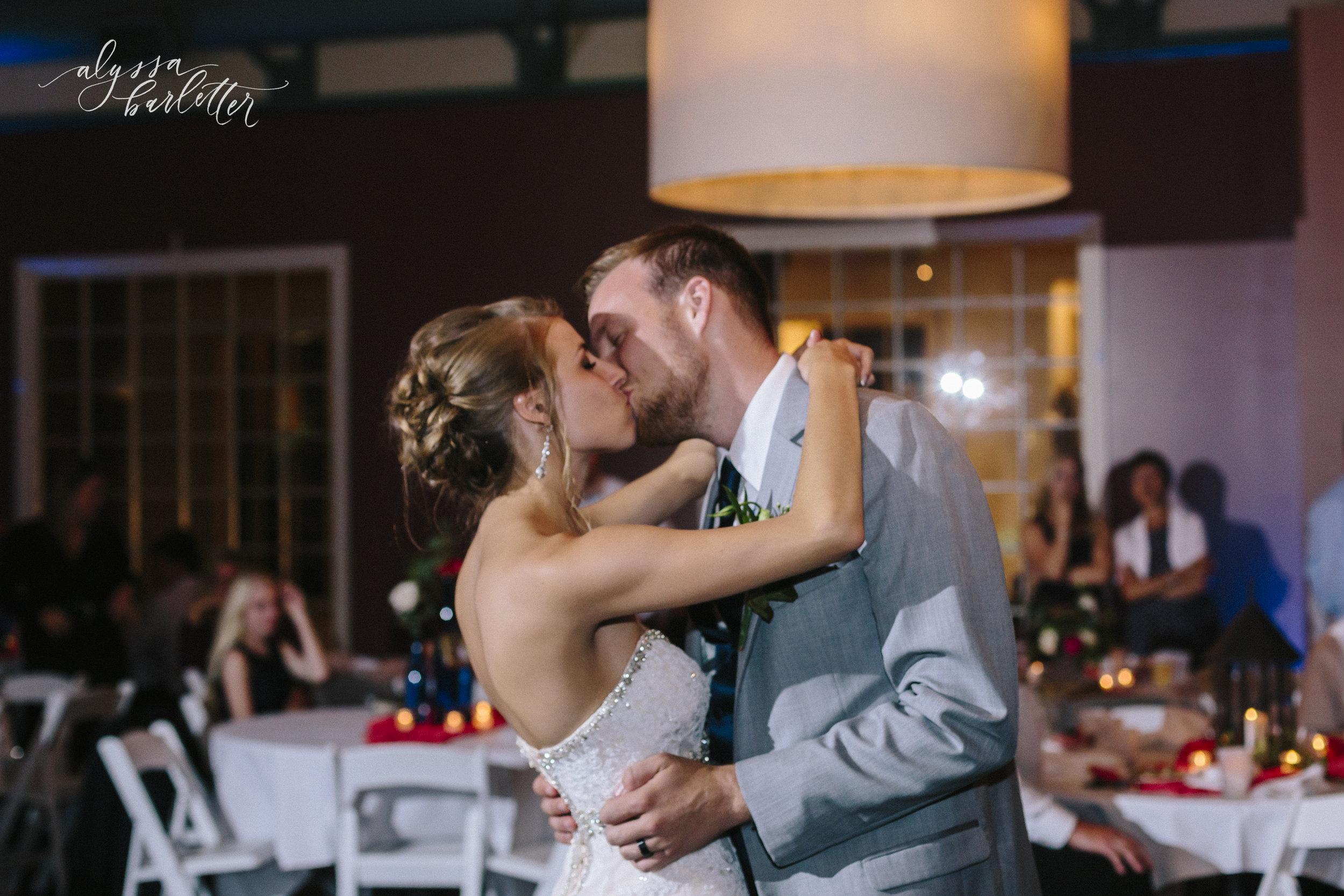 kansas city wedding photographer westport californos reception bride groom first dance