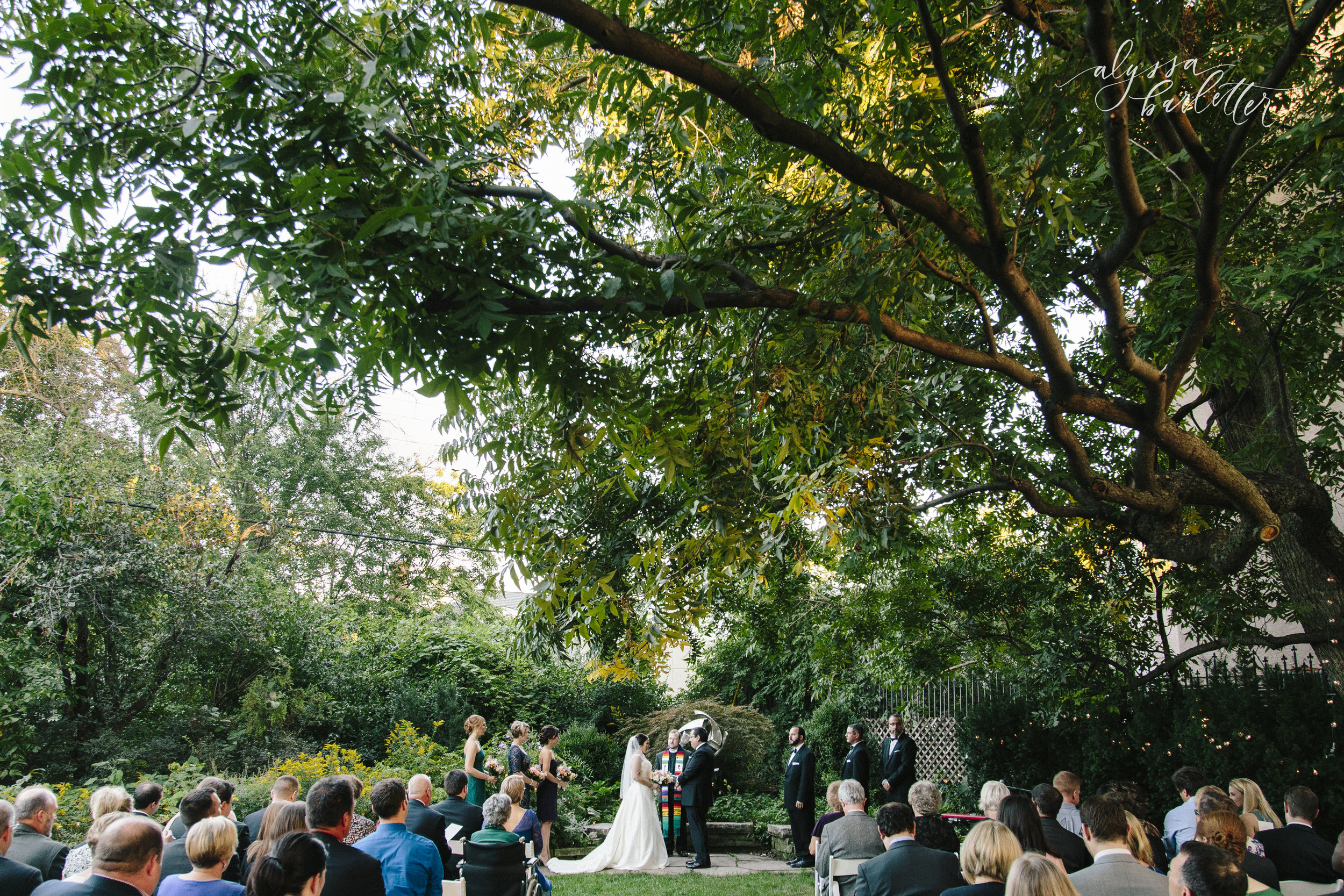 kansas city missouri wedding photographer ceremony simpson house