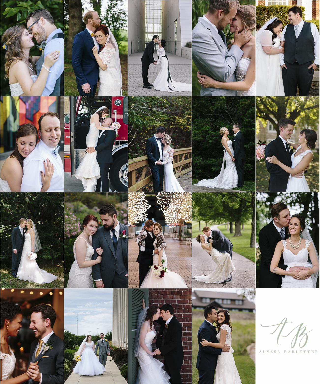 end of year 2016 alyssa barletter photography kansas city wedding midwest bride groom photos
