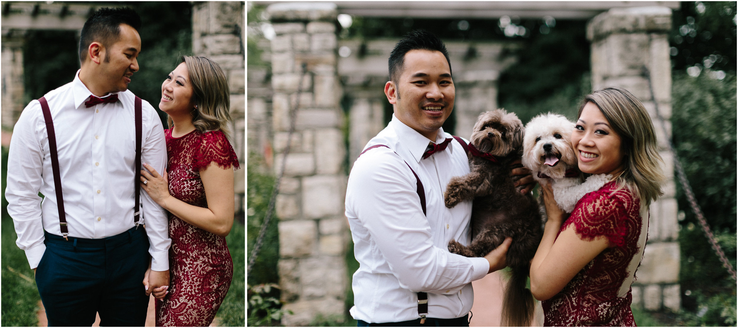 alyssa barletter photography loose park west bottoms engagement session dogs-2.jpg