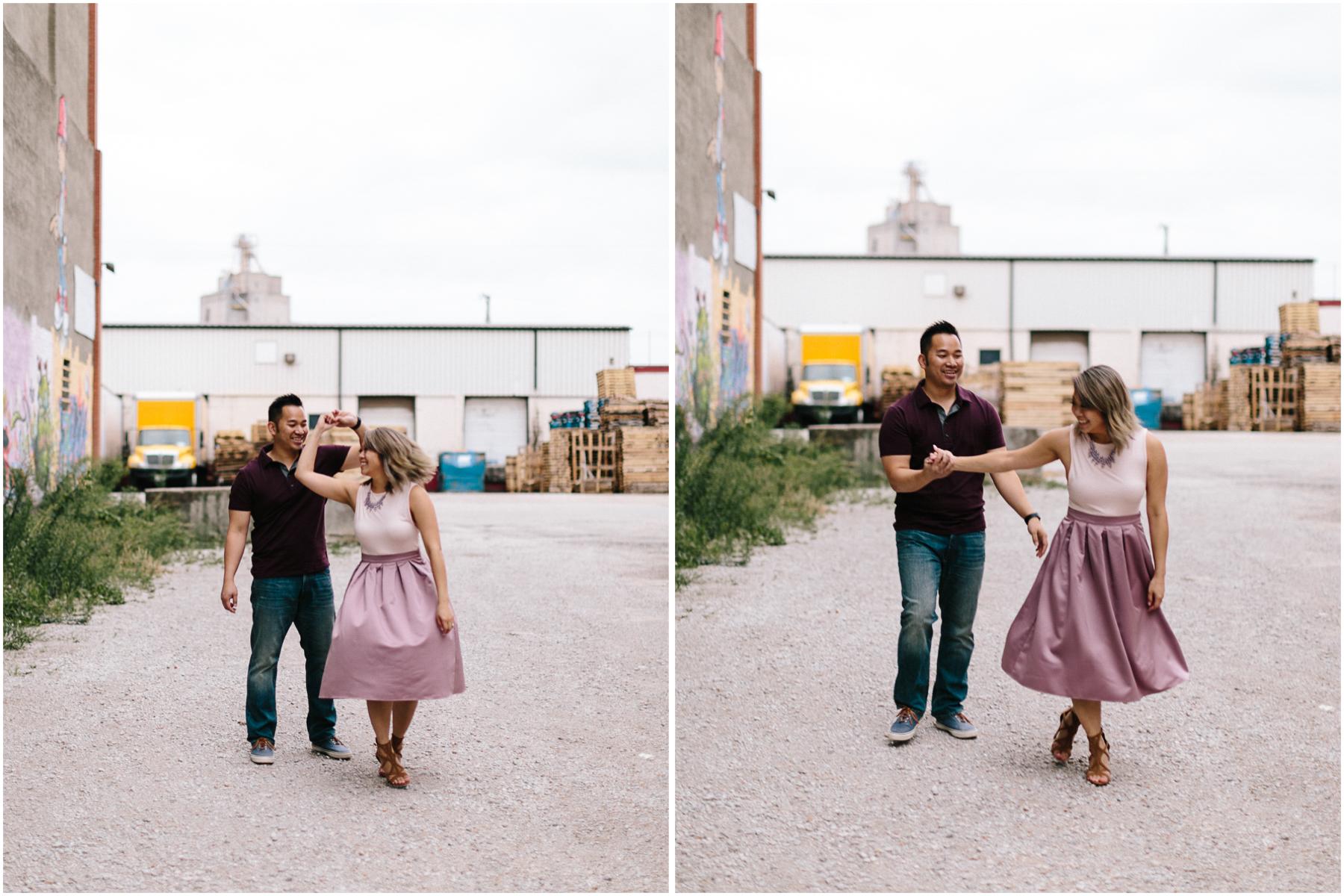 alyssa barletter photography loose park west bottoms engagement session dogs-14.jpg