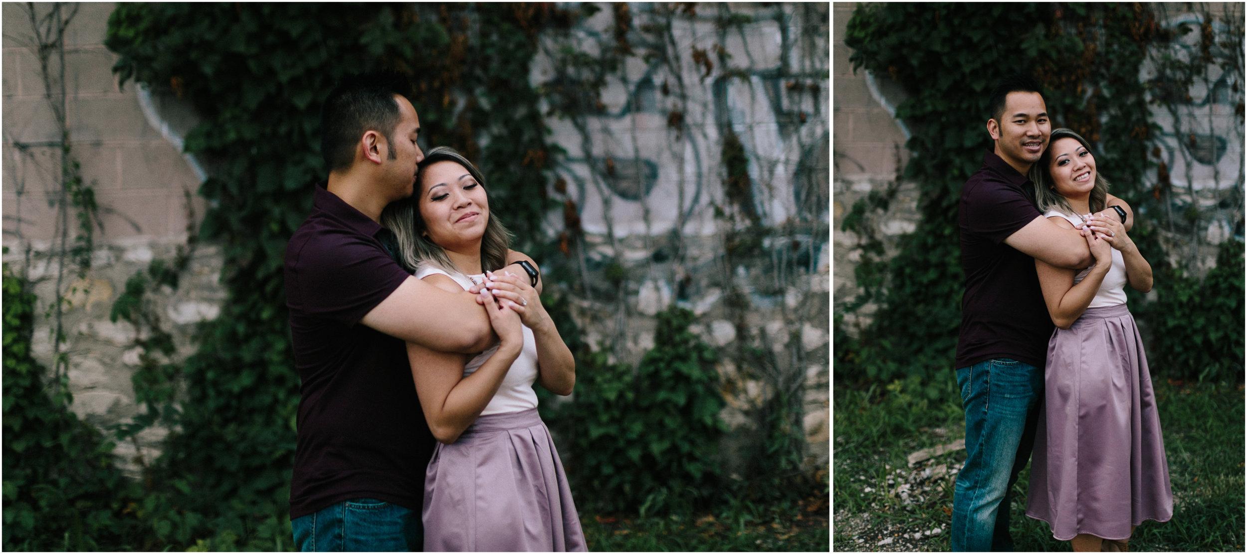 alyssa barletter photography loose park west bottoms engagement session dogs-17.jpg
