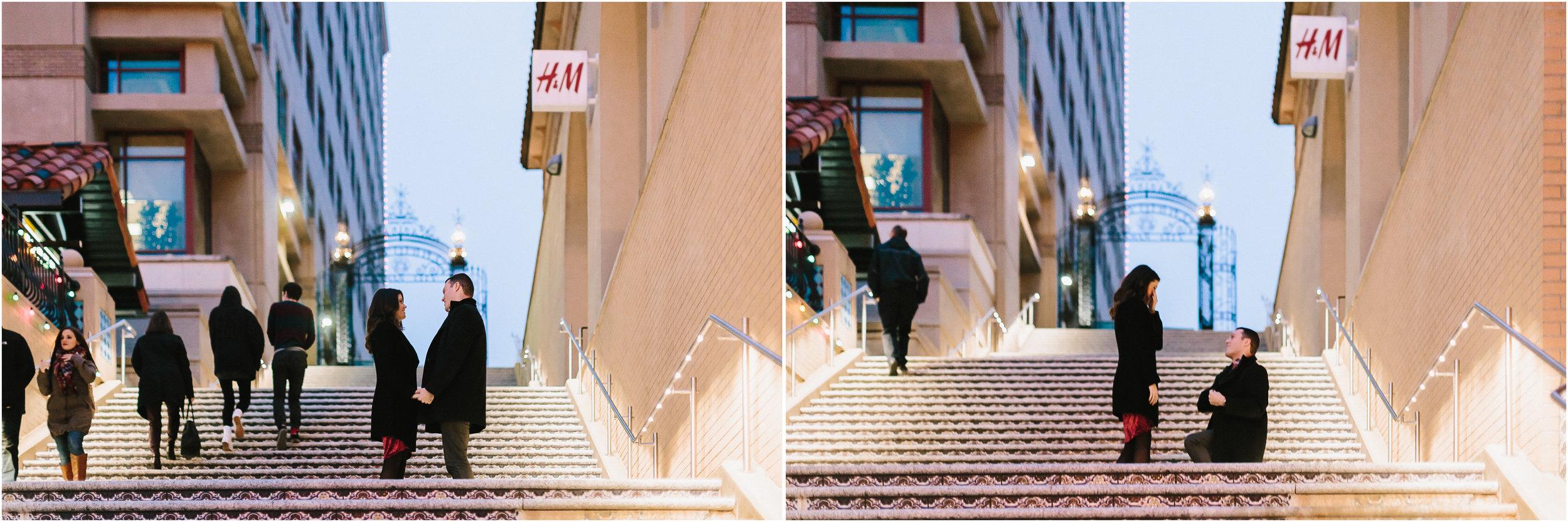 alyssa barletter photography christmas winter wedding proposal plaza lights plaza stairs she said yes-1.jpg