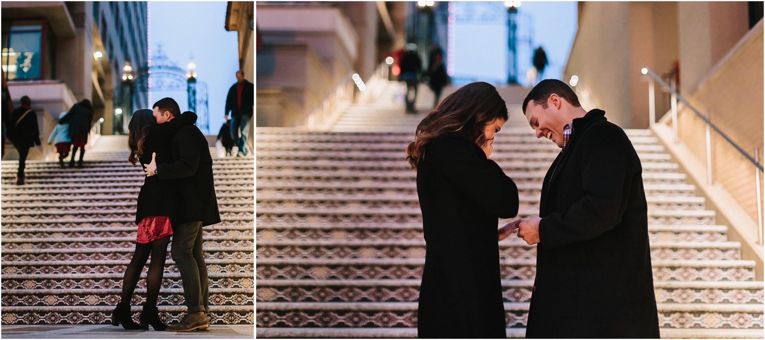 alyssa barletter photography christmas winter wedding proposal plaza lights plaza stairs she said yes-3.jpg